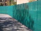 Darabolt árnyékoló, kerítésháló használata