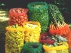 Zöldségek raschel zsákokban