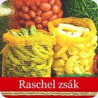 Raschel zsák